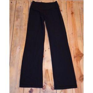 Lululemon Black Yoga Pants Size 4